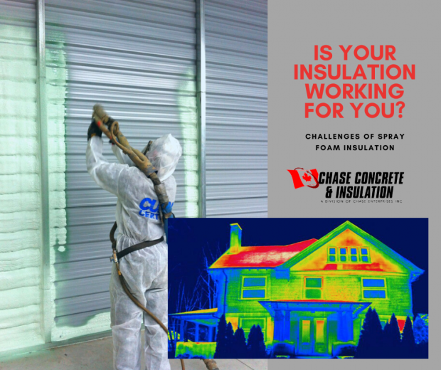 Challenges of Spray Foam Insulation