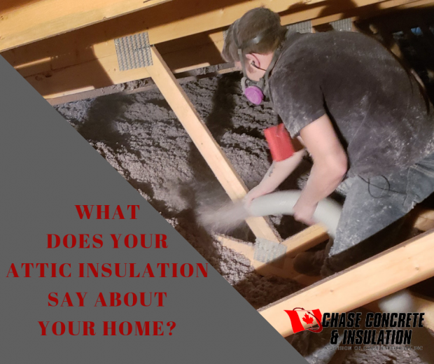 What does your attic insulation say about the health of your home?